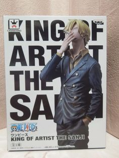 New One Piece King of Artist The Sanji Figure from Japan