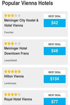 Want to go for holiday in Austria? Find places of interests eg Vienna in Austria with our app. <p>Reserve your hotel in Austria with ease and at the best rate from your phone. <br>✓Search for nearby hotels or hostels or budget hotel in Austria.<br>✓ Hotel Reservations made easy with this Austria Hotel app. Simple and secure booking process.<br>✓ Hotel information, guest reviews, photos, descriptions, maps of hotel.<br>✓ Up to 80% discounts on hotels, hostels and motels. Instant online and…