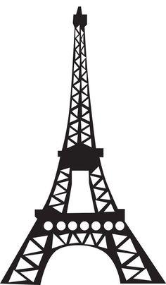eiffel tower silhouette clipart free stock photo public domain rh pinterest com eiffel tower clip art free eiffel tower clip art large