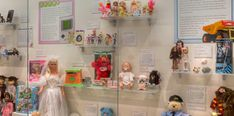 Toys of the 1990s in Gotta Have It! Iconic Toys of Past Decades at The National Museum of Toys and Miniatures.