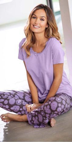 Модные и стильные женские пижамы с комфортом от bonprix