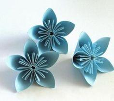 Jak zrobić kwiat z papieru? origami flowers step by step