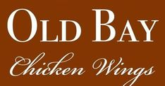 Old Bay Chicken Wings Recipe