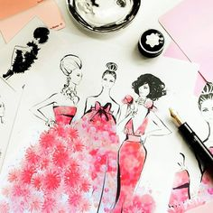 11 amazing fashion illustrators to follow on Instagram: