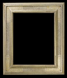 "Replica of a twentieth century ""Bucks County"" style American Impressionist frame. Hand carved, incised, and toned over watergilded 12 karat gold. This piece was made after researching the techniques of Bernard Badura who was a student of Fredrick Harer, an influential frame maker from Bucks County Pennsylvania."