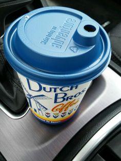 "My second consecutive Dutch Bros crowd pleaser, a ""Kicker"": Irish Cream goodness hot or cold!"