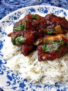 Kuracie NEmanchurian India Food, Tandoori Chicken, Indie, Treats, Ethnic Recipes, Sweet Like Candy, Goodies, Indian Dishes, Sweets