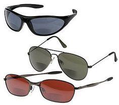 S/3 Bifocal Sunglasses by Hummingbird 1.0 - 2.5 Strength