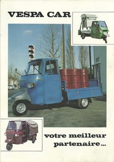 Vespa-car 1987 | Flickr - Photo Sharing!