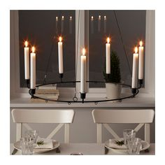 VINTER 2017 Chandelier for 7 candles  - IKEA