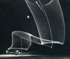 helicopter taking off at night