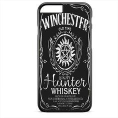 Jack Daniels Supernatural Winchester TATUM-5737 Apple Phonecase Cover For Iphone SE Case