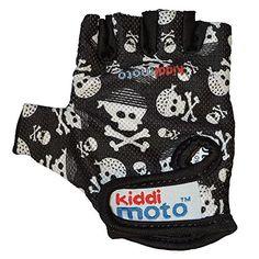 Kiddimoto Skullz Small Gloves (Black/White)