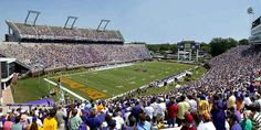 Pirates Football, East Carolina University in Greenville, NC