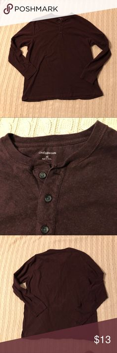 a27d436b535c NWOT maroon Henley NWOT maroon Henley from Croft   barrow. My husband never  wore it