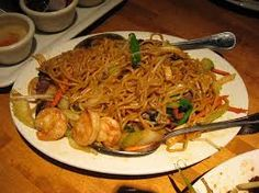 SHRIMP LO MEIN  PF Chang's Copycat Recipe   1 pound mixed vegetables ( slightly blanched )--you can use any vegetables you want  1 pound ...