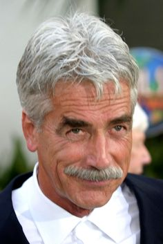 Sam Elliot...dusty, ol' cowboy with the gravelly voice
