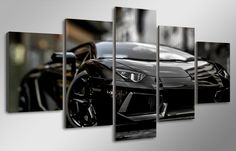 A black beauty and monstrosity in one.Accessories needed for wall-attachement are provided with all of our canvas-products. Summer Sale, Black Beauty, Decor Ideas, Free Shipping, Cars, Live, Prints, Room, Stuff To Buy