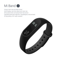 Xiaomi officially launches the Mi Band 2 | The Verge