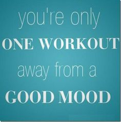 love how I feel right after a good workout!