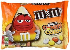 Best White Chocolate Candy Corn Mms Candies Recipe on Pinterest