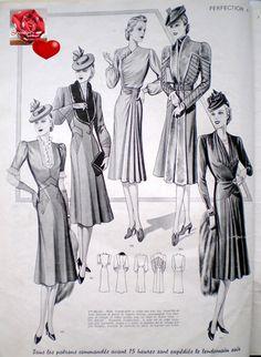 1940s fashion:  Serendipity Girls Designer Dresses Blog  Delicious!