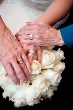 Three generations  love family photography wedding flowers white bride