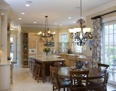 toile and cabinets