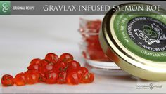 Infused Caviar Roe : BBQ Salmon, Bacon Trout, Sake Trout, Lemongrass Whitefish and more : CCC