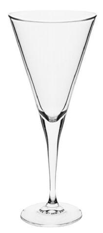 Jogo com 6 taças de cristal  310 ml Modelo Trumpet  Rona