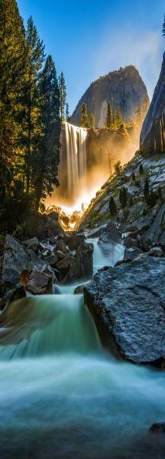 Vernon Falls, Yosemite National Park, California, USA