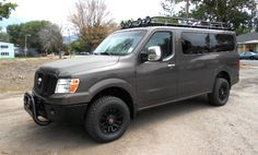 Do you need a Nissan 4x4 van conversion? Our 40 years of experience lets us create a reliable Nissan 4x4 van for individuals and dealers all over the world.