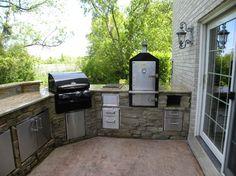 outdoor kitchen on outdoor kitchens pizza