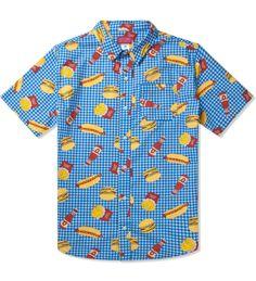 d8ec26dc Odd Future Blue Musty Burger S/S Woven Shirt | HYPEBEAST Store. Shop Online