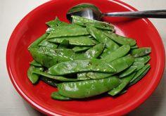 Microwave Snow Peas Recipe - Food.com