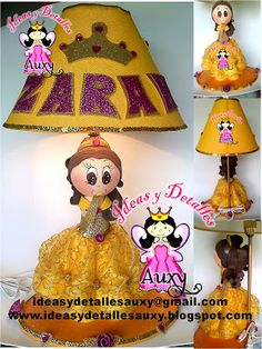 Ideas y Detalles Auxy Gnomes, Aurora, Scrapbook, Craft, Painting & Drawing, Jelly Beans, Christening, Centerpieces, The Creation