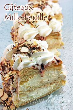 Gâteaux Mille-Feuille (Napoleon Pastry) ~ Gretchen's Bakery