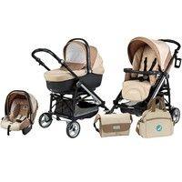 Carrinho de Bebê Pliko Compact Mod Black Pég - Perego 2648624