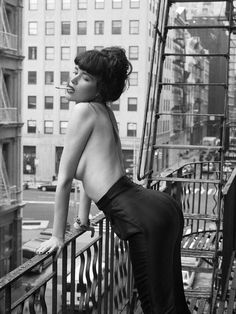 Paz de la Huerta by Mark Seliger