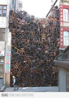 의자들...우와!!