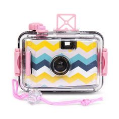 Underwater Camera in Acapulco SUNNYLIFE Underwater Camera Capture a SUNNYLIFE moment! - Waterproof camera works to a depth of - Takes any film - Fun bright multicolored Pool Accessories, Fashion Accessories, Waterproof Camera, Sunnylife, Pool Floats, Gifts For Photographers, Camera Straps, Camera Reviews, Dot And Bo