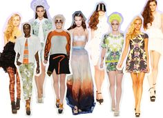 #MBFWA Day 4!! #fashion #style #spring2012 #trends #runway #prints #florals
