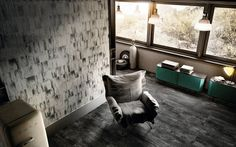 Ribbed oxide White | Floor and Wall Tiles - Iris Ceramica