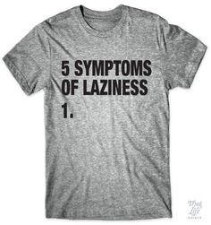 Symptoms Of Laziness