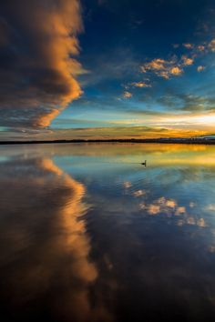 ~~Dreamworld | sunrise and cloud reflections on the lake | by Joci Vojnics~~