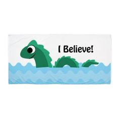 I Believe! Champ Beach Towel