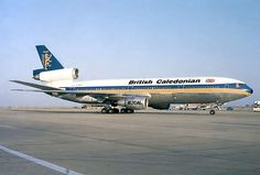 "British Caledonian Airways McDonnell Douglas DC-10-30 G-BHDJ ""James S McDonnell - The Scottish American Aviation Pioneer"" seen at Faro-International, circa 1986. (Photo: Pedro Aragão)"