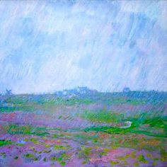 Claude Monet - Pioggia a Belle-Ile (1886-87)
