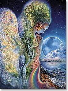 """Sadness of Gaia Sympathy Josephine Wall Greeting Card by Tree Free. $5.99. """"As you say goodbye to one so close to your heart... With Deepest Sympathy"""". Enter into the intriguing and vivid imagination of artist Josaphine Wall. Each design is a masterpiece of fantasy and wonder protrayed in mesmerizing detail. This card includes a wonderful message written by the artist and a colourful envelope."""