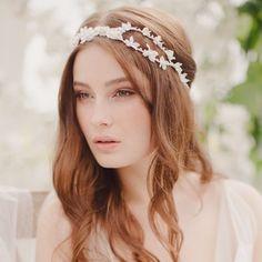 Pretty, non-Coachella-y flower crown